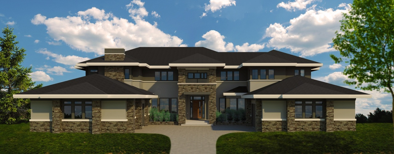 BP drawings are done, and excavation has just begun on this new home in one of Calgary's premier estate communities.