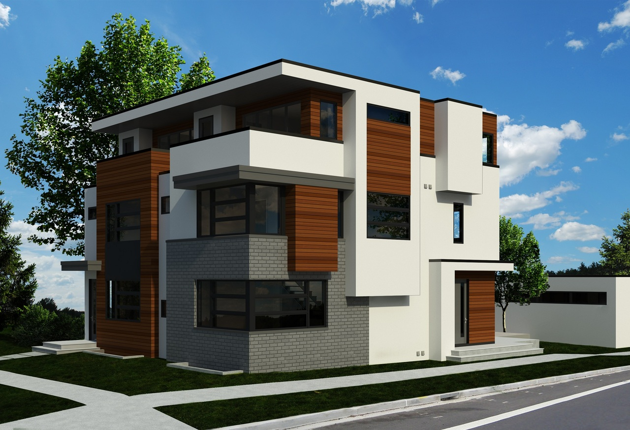 Construction on this new Semi-Detached in Bridgeland will be starting soon! This project features unobstructed City views from the 3rd floor balconies, and tunnels connecting each unit to it's rear garage.