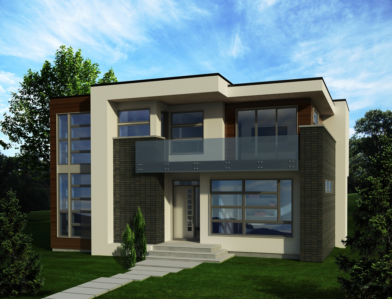 The Development Permit for this new custom single-detached home took 5 short weeks from submission to release, just in time to start construction before winter!