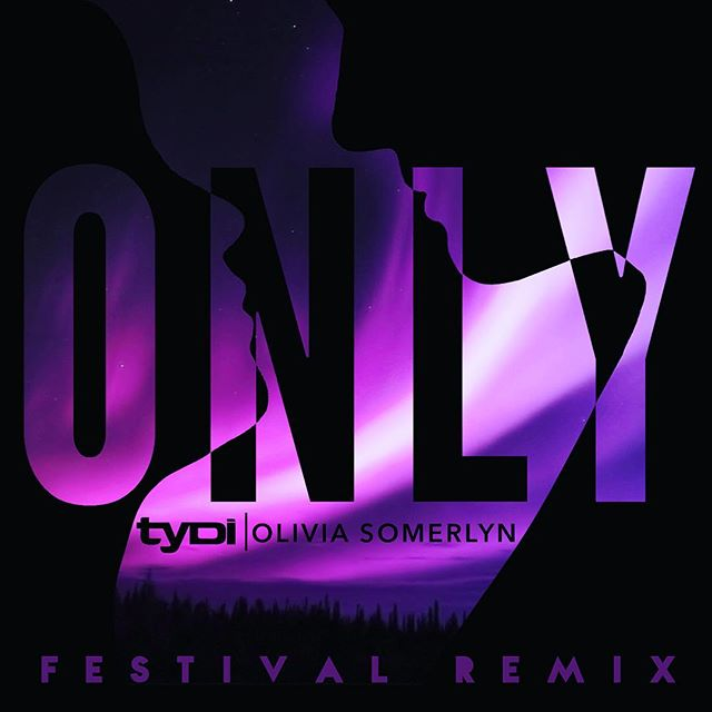 @tydi's amazing festival remix of #ONLY is finally out!!! You are going to love this 💜🎶 check it out on Spotify & iTunes!
