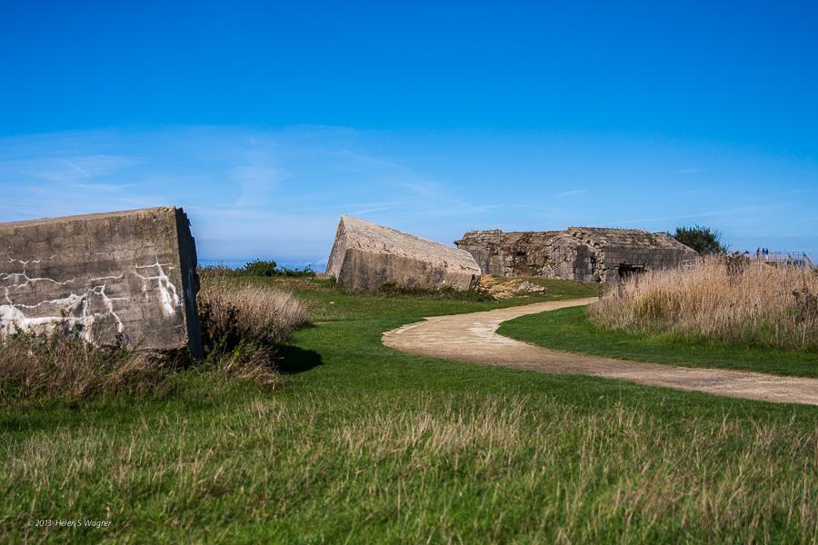 Casements  Pointe du Hoc  Normandy, France