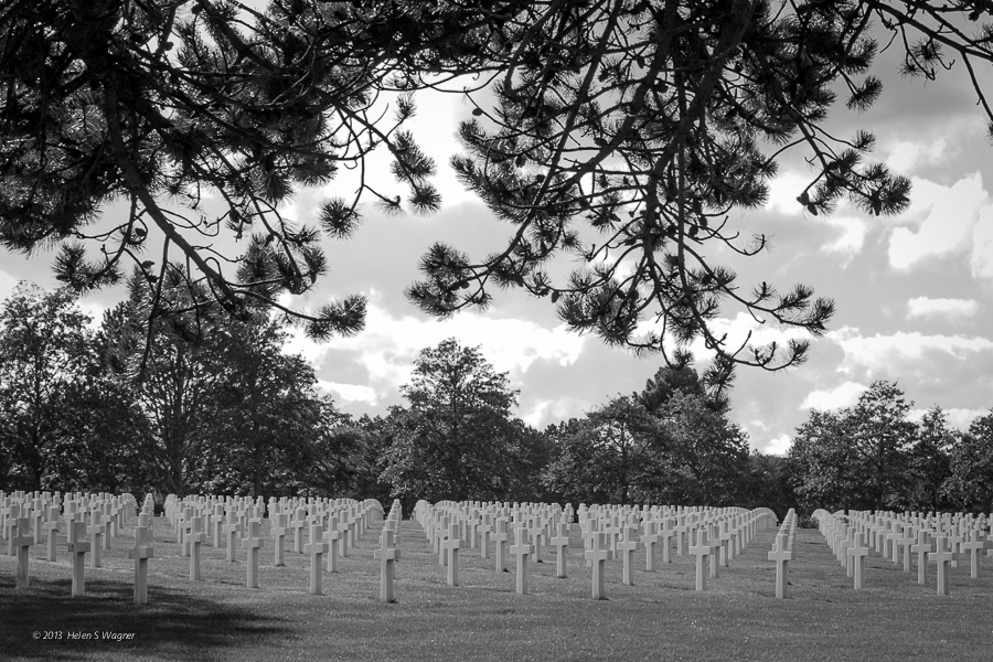 Normandy American Cemetery  Colleville-sur-Mer, Normandy, France