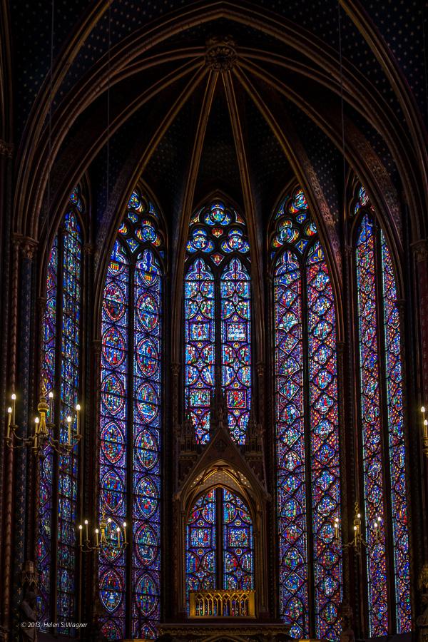 Sainte-Chapelle  Paris, France