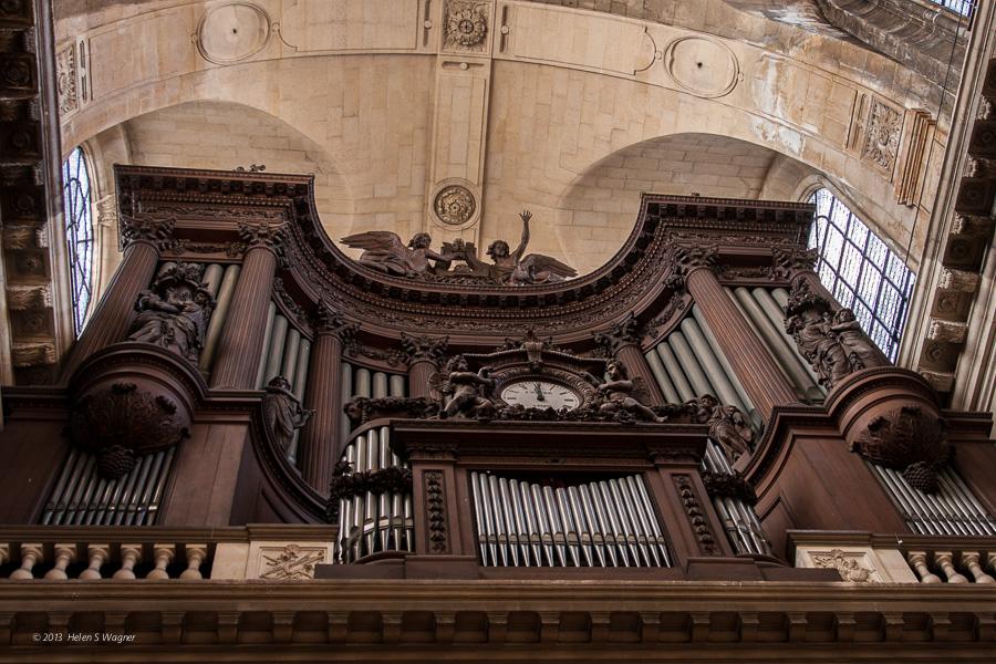 The Great Organ, Église Saint-Sulpice  Paris, France