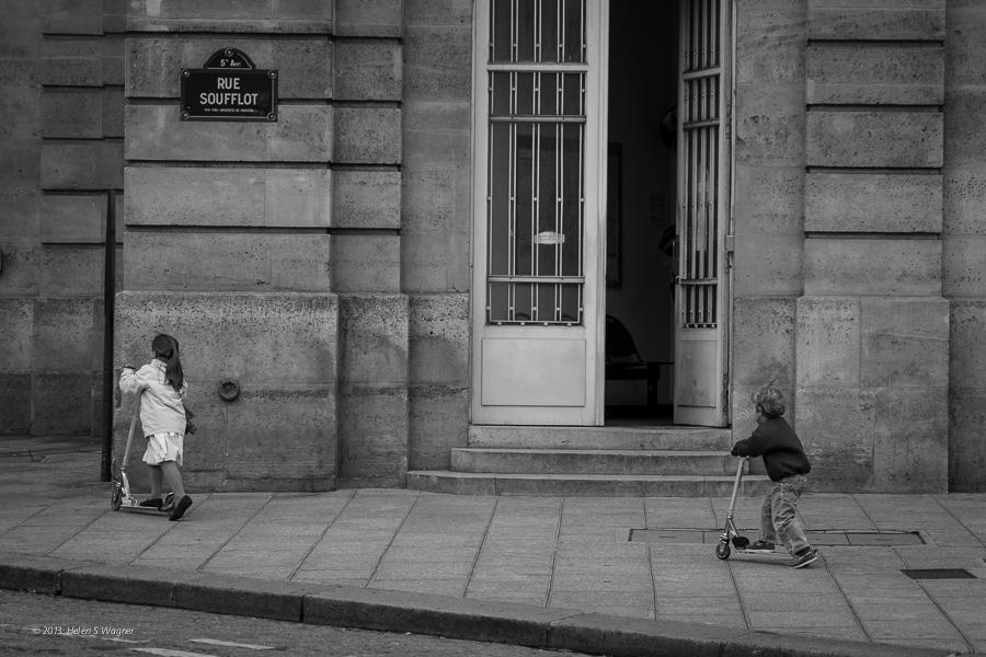 Near The Pantheon  Paris, France