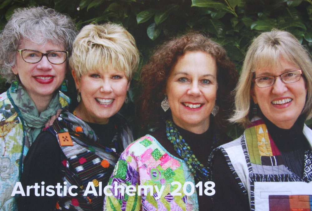 Sandra Bruce, Mary Boalt, Me, Heidi Emmett