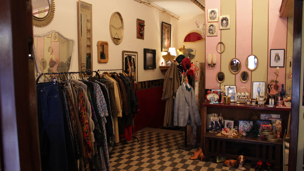 SE TRASPASA - Tienda de objetos vintage (Madrid)