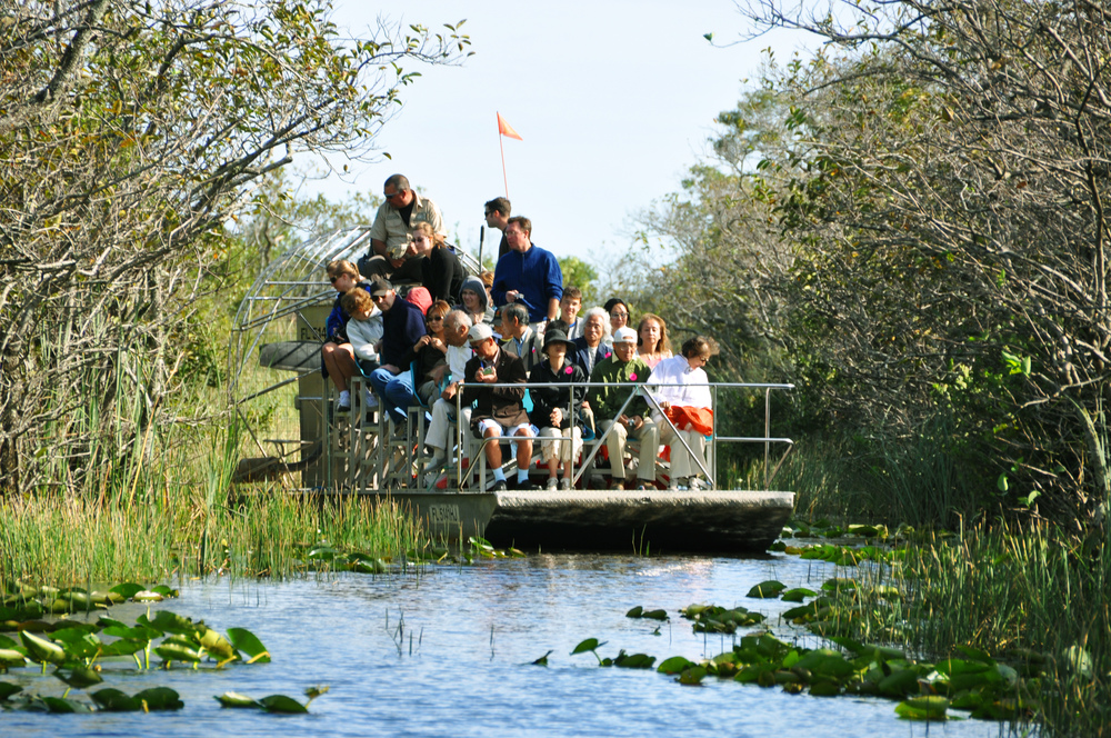 El Everglades National Part se encuentra bastante cerca