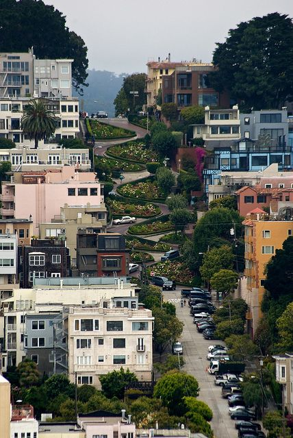Lombard Street SF, via Flickr. by Phalanx1984