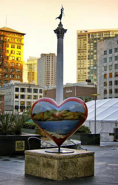 A Heart in San Francisco   by   SJL   on   Flickr