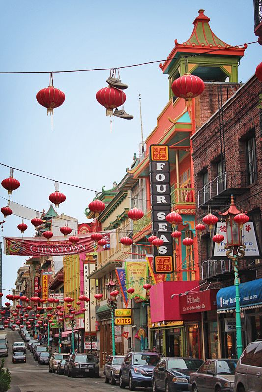 Another view of Chinatown, San Francisco   by   Bambi L. Dingman   on   Fivehundredpx