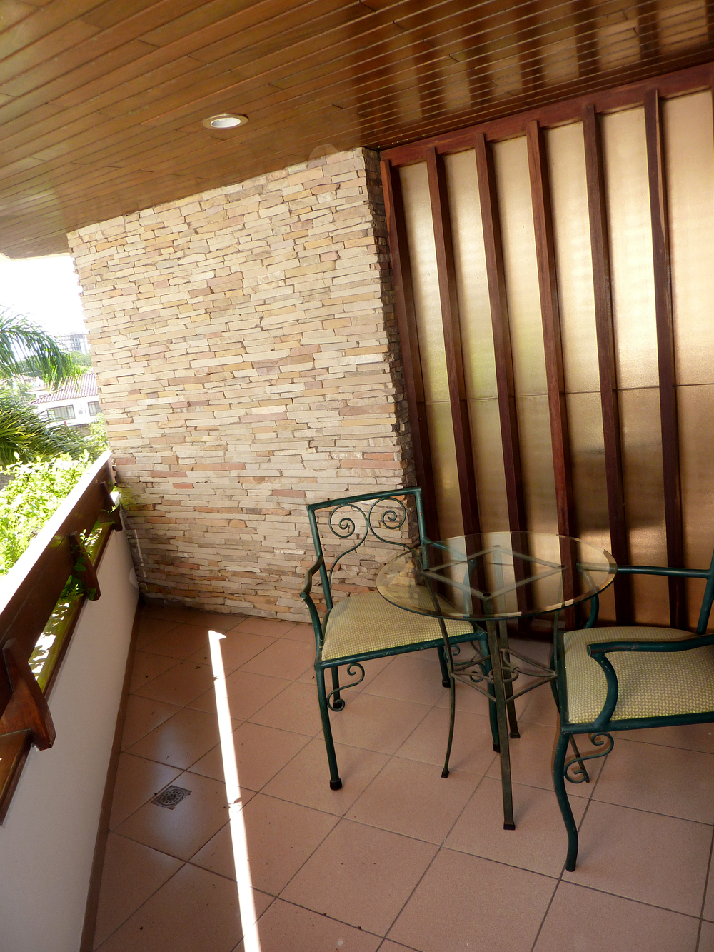 Todas las suites cuentan con balcón