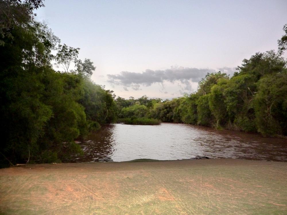 Cruzando el arroyo