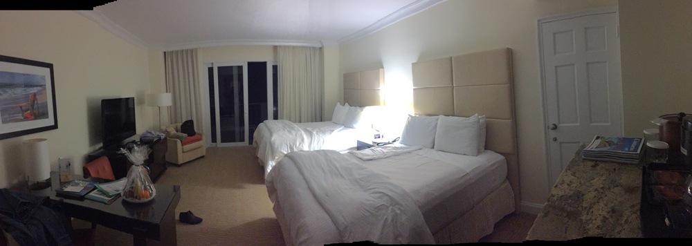 Mi habitación fue una con vista al mar