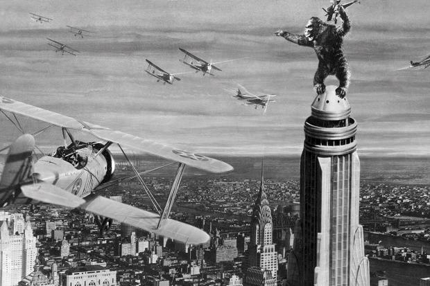 ¿Se acuerdan a cual edificio subió King Kong?
