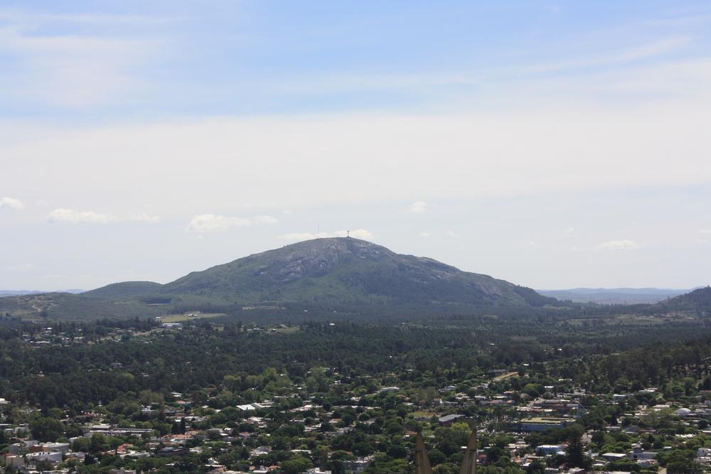 Vista desde el Parador Panoramico Lo de Juan y Cristina