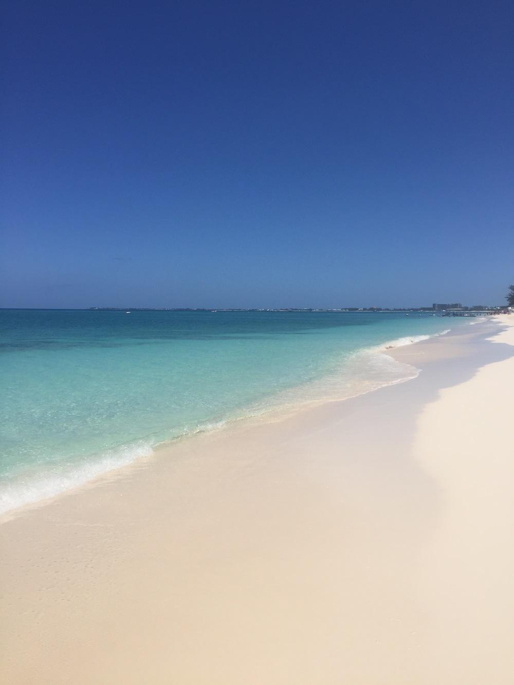 ¿Que te parece la playa?
