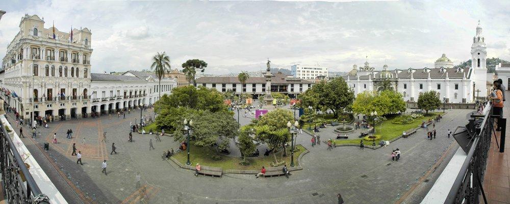 Plaza Grande o Plaza de la Independencia