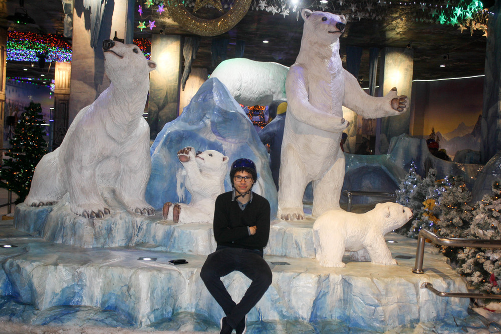 En el Snow Park