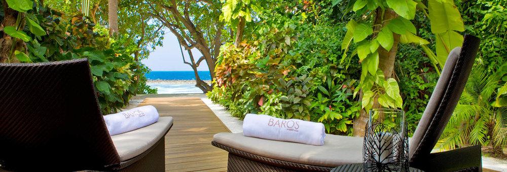 Baros Maldives vista del mar