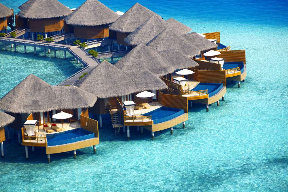 Baros Maldives Water Pool Villas
