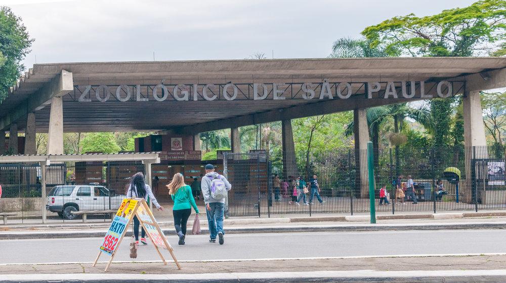 Zoologico de la ciudad de Sao Paulo