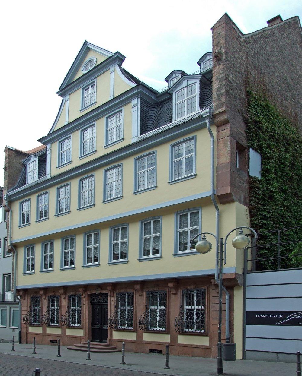 Goethe Haus -La casa de Goethe