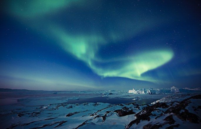Aurora Boreal Groenlandia