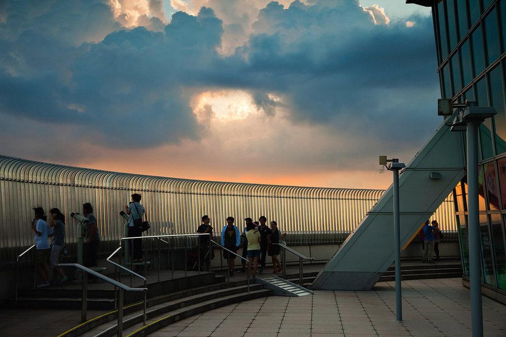 Taipei 101 observation deck   Philipp Chistyakov