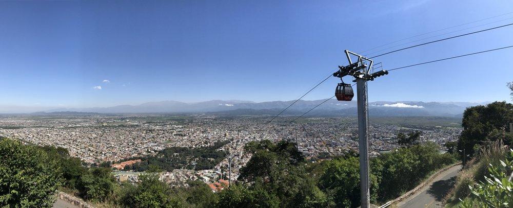 Vista desde la cumbre del Cerro San Bernardo