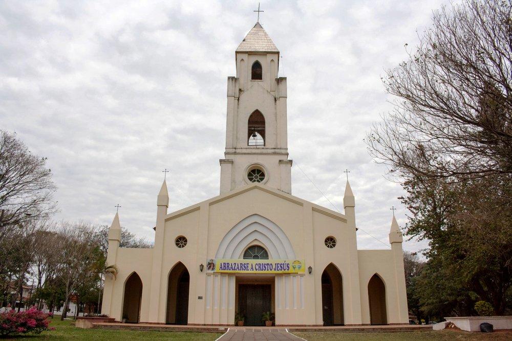 Iglesia de San Lorenzo Quiindy