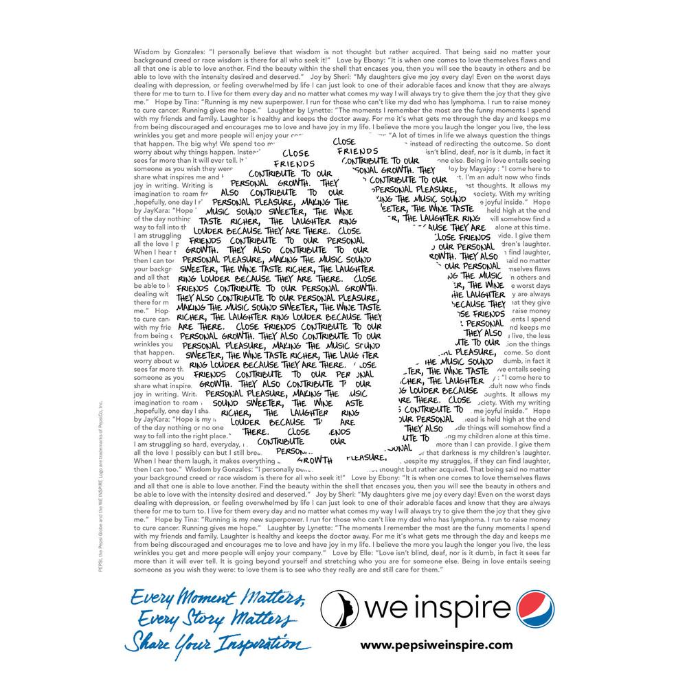 WE INSPIRE