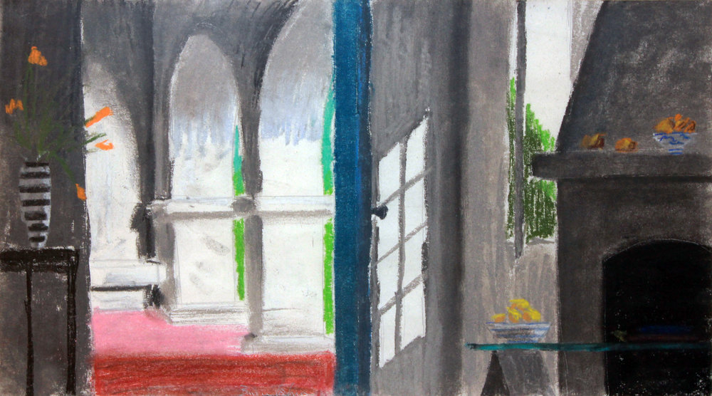 Bruce Cohen  Untitled Pastel on paper Signed in pencil on recto Sheet: 8 x 14 inches; Framed: 17 x 23 inches Estimate: $800/$1,200