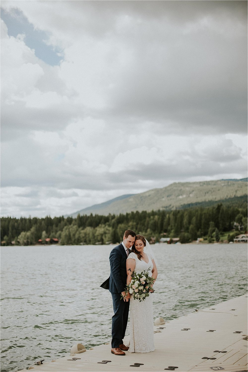 whitefish montana wedding bride and groom portrait.jpg
