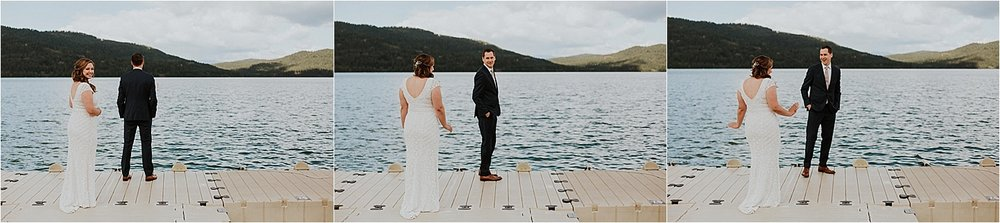 Whitefish montana wedding first look.jpg