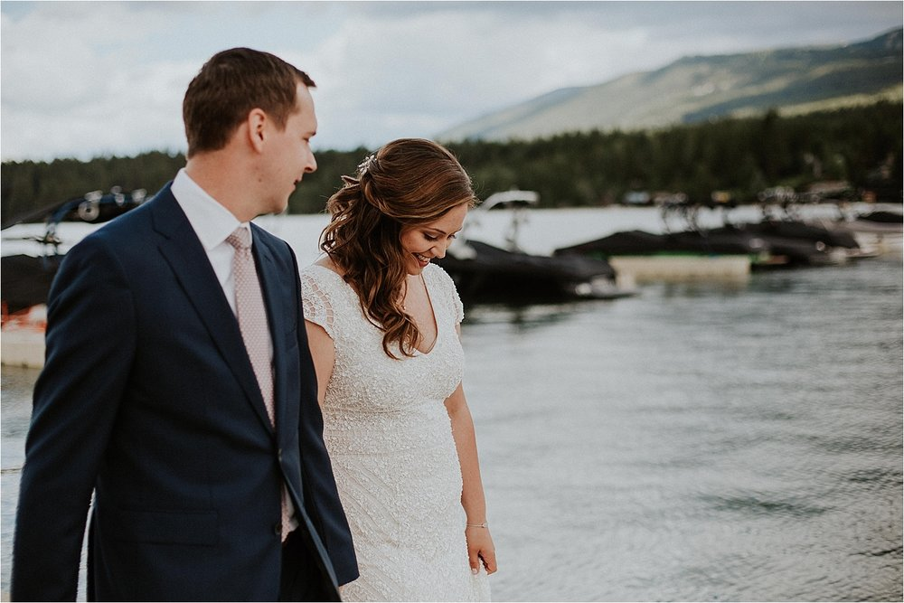 Whitefish montana wedding lodge at whitefish lake dock.jpg