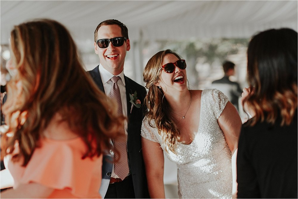 whitefish montana wedding reception with sunglasses.jpg