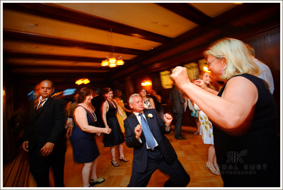 Breanne's Dad on the dance floor
