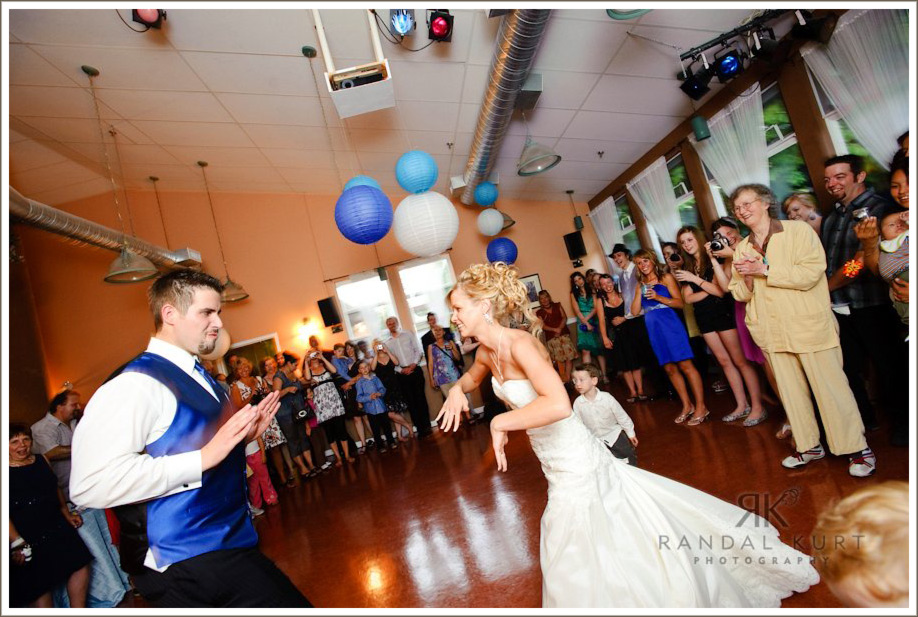 A very cool first dance