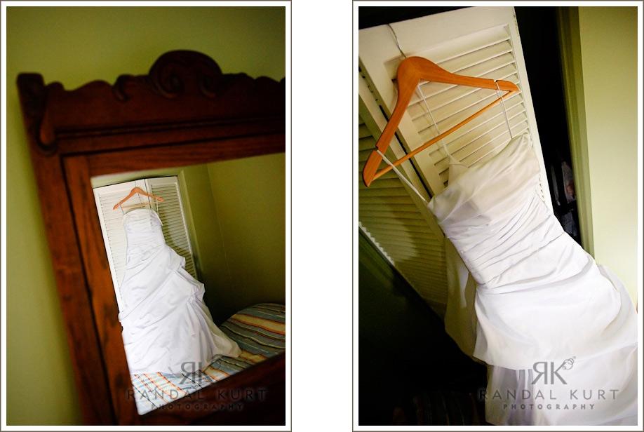 Sara's beautiful wedding dress