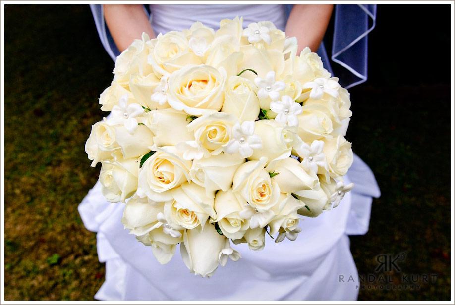 Sara's wedding bouquet
