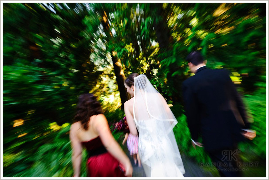 Rushing to the reception