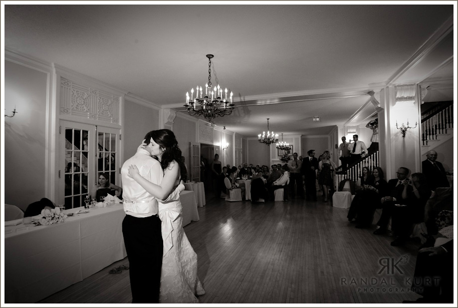 Tiffany and Jon's first dance