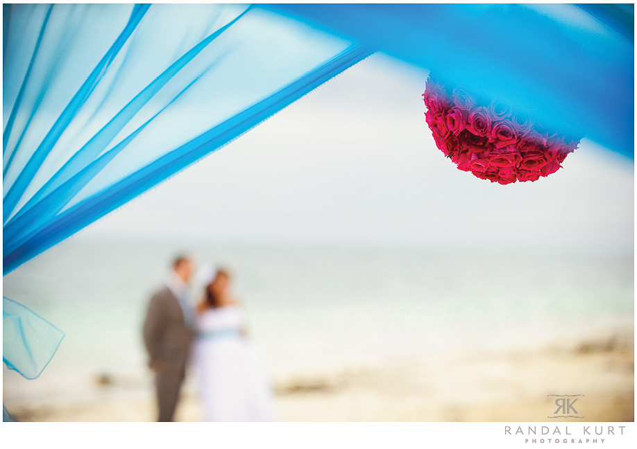 Married on the beach at the Dreams Riviera Cancun