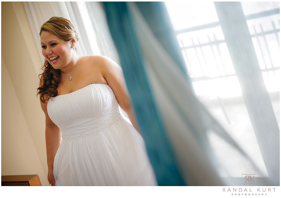 The bride getting ready for her wedding day - photography by Randal Kurt Photography