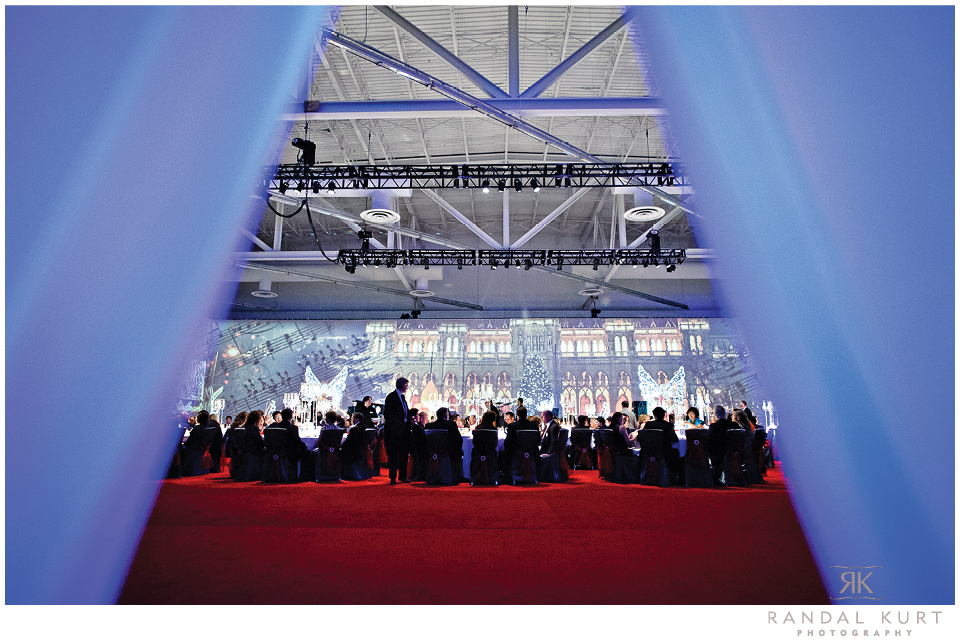 Gala event at the Vancouver Convention Centre