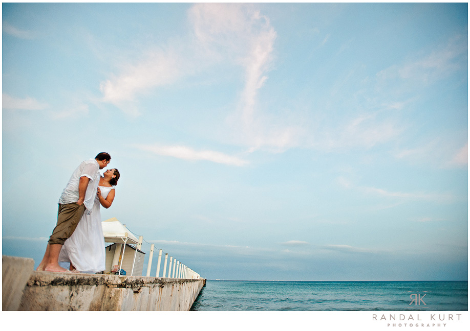 Camen and Livio's destination wedding at the Dreams Riviera Cancun