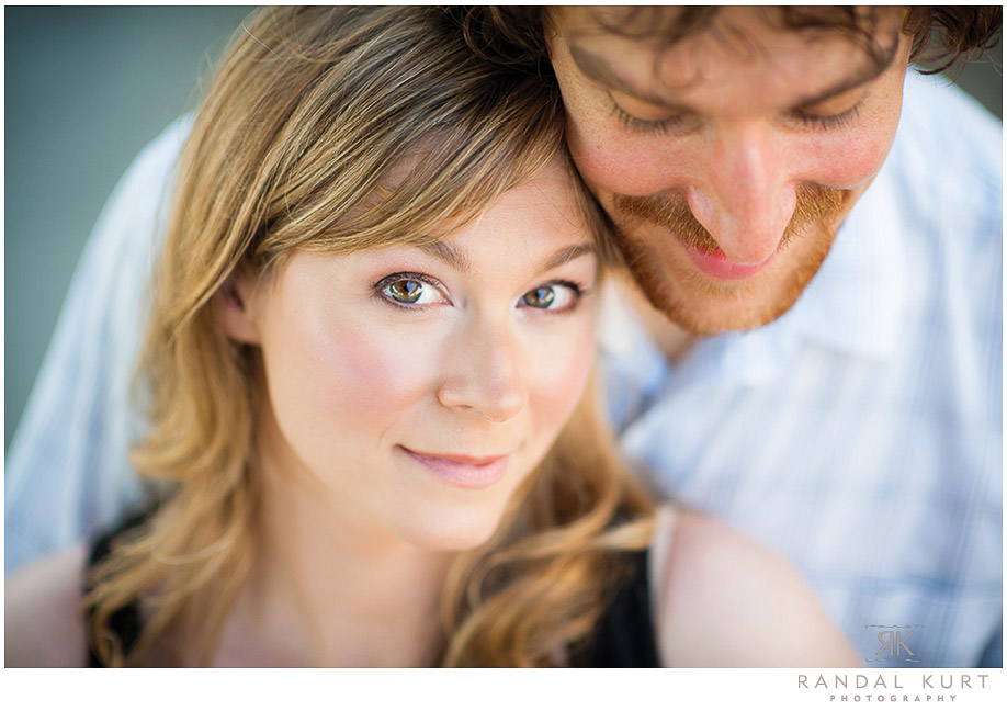 An engagement session with Pete and Erin on Granville Island