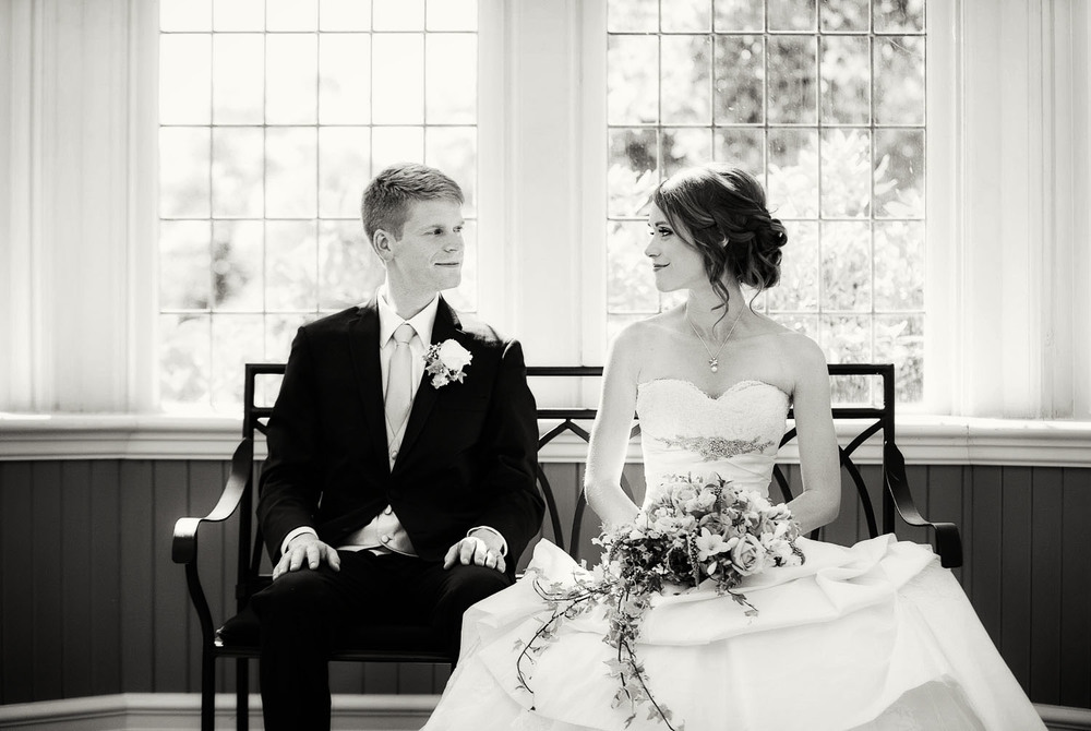 Sabine & Craig's elegant Cecil Green Park House wedding | Image by Randal Kurt Photography