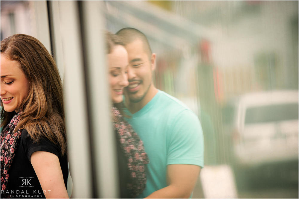 An engagement session on Granville Island with Meghan and Bryce.